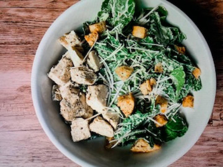 Chicken Kale Caesar